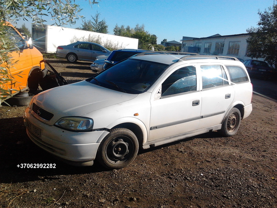 Foto-1 Opel Astra Astra, G 1998.09 - 2004.12 1998 Petrol 1.6 ...