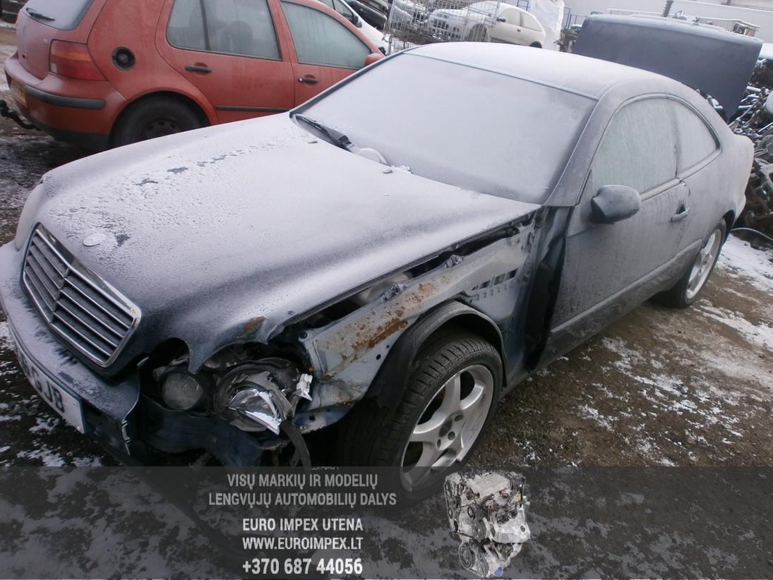 Foto-1 Mercedes-Benz CLK-CLASS w208, 1997.01 - 2002.06 1998 Petrol 2.3
