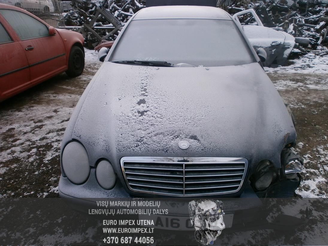 Foto-2 Mercedes-Benz CLK-CLASS w208, 1997.01 - 2002.06 1998 Benzinas 2.3