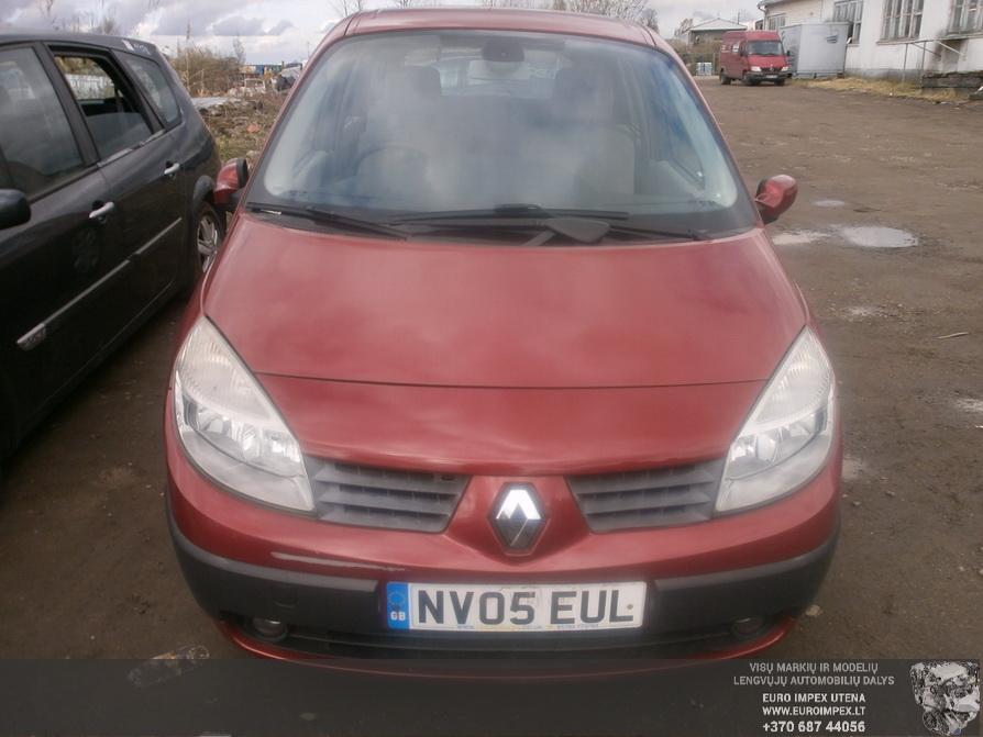 Foto-2 Renault Scenic Scenic, 2003.06 - 2006.06 2005 Benzinas 1.6