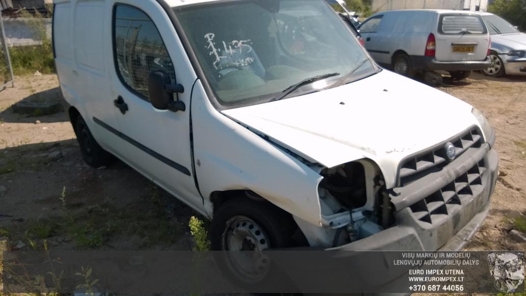 Foto-1 Fiat Doblo Doblo, 2000.03 - 2005.10 2002 Dyzelis 1.9
