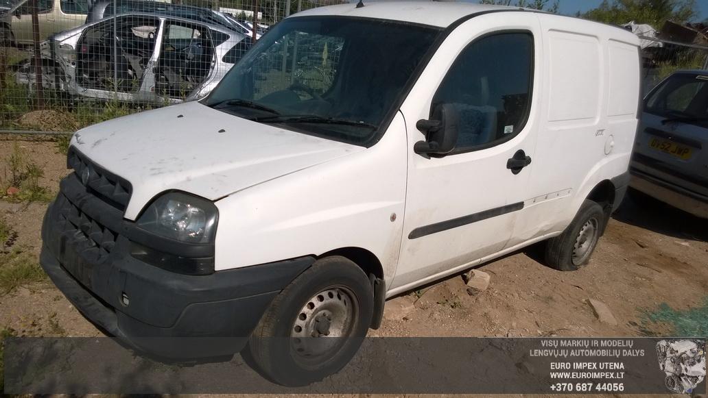 Foto-3 Fiat Doblo Doblo, 2000.03 - 2005.10 2002 Dyzelis 1.9