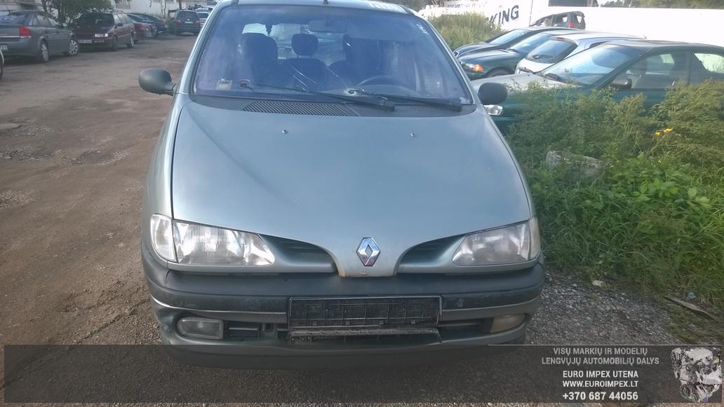 Foto-2 Renault Scenic Scenic, I 1996.01 - 1999.09 1998 Benzinas 1.6