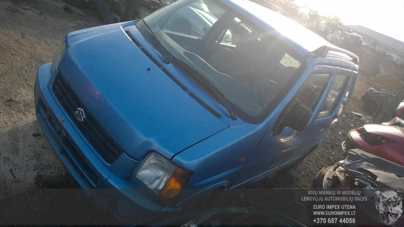 ... Foto-3 Suzuki Wagon R Wagon R, 1997.10 - 2003.12 1998 Petrol 1.2 ...