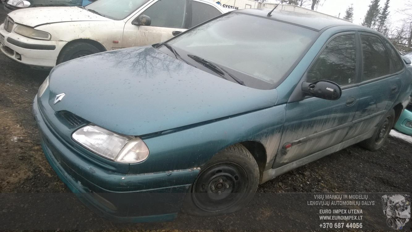7703297505 Fuse Box Renault Laguna 1996 18l 25eur Eis00076267 Cover Foto 3 199401 200103 Petrol 18