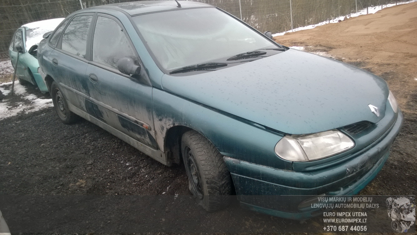 7703297505 Fuse Box Renault Laguna 1996 18l 25eur Eis00076267 Cover Foto 1 199401 200103 Petrol 18