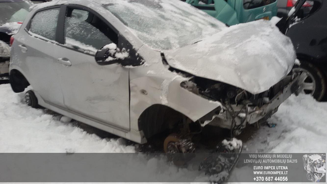 Foto-1 Mazda 2 2, DE 2007.10 - 2014.06 2009 Benzinas 1.5