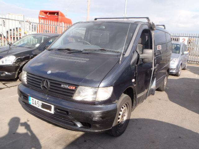 Foto-1 Mercedes-Benz Vito W638, 1996.02 - 2003.07 2001 Dyzelis 2.2