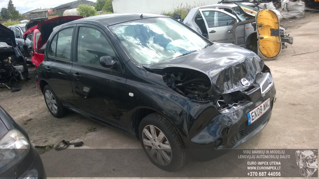 ... Foto-3 Nissan Micra Micra, K12 2007.06 - 2010.06 facelift 2008 Petrol  1.2 ...