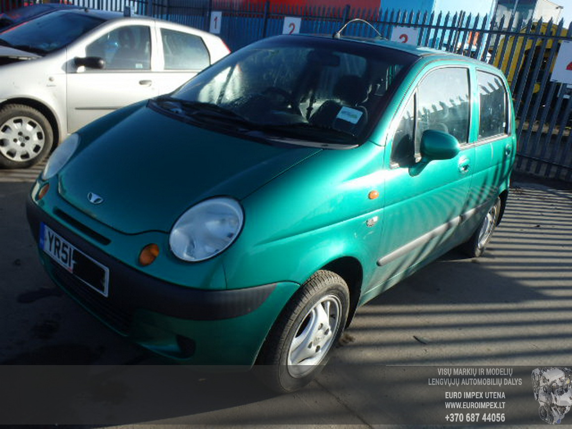 96322350 7541196 Immobiliser ECU Daewoo Matiz 2001 0.8L 20EUR ...