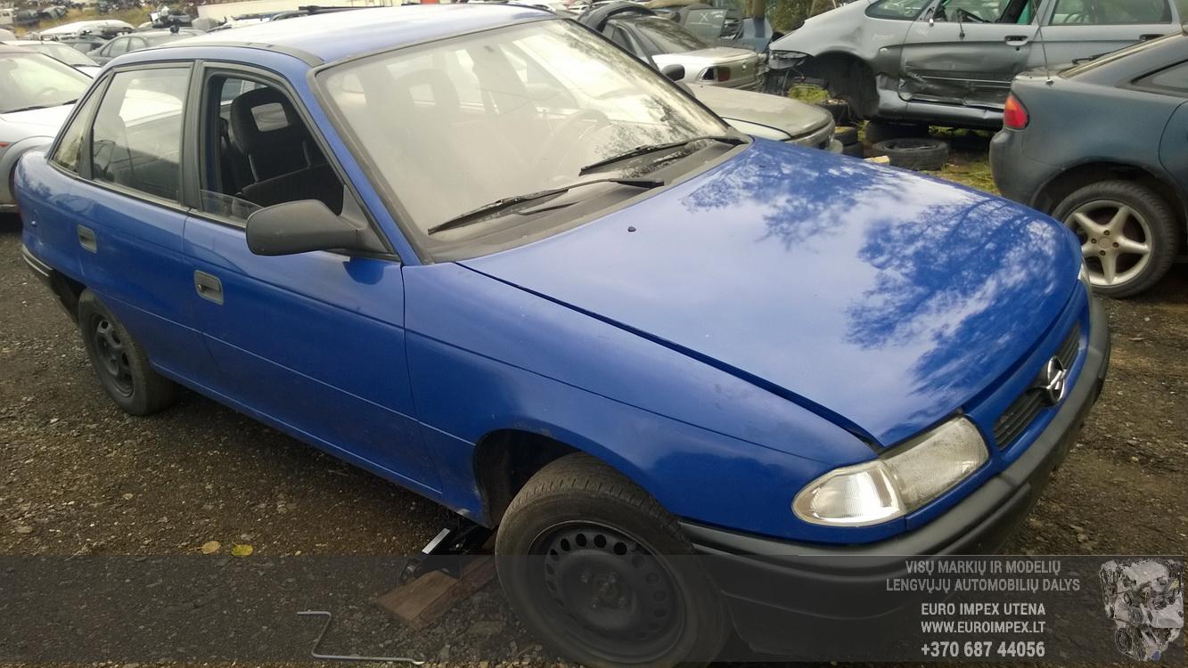 Nera Fuse Box Opel Astra 1994 17l 13eur Eis00134105 Used Parts Shop Mark 5 Foto 3 F 199109 199809 Diesel 17