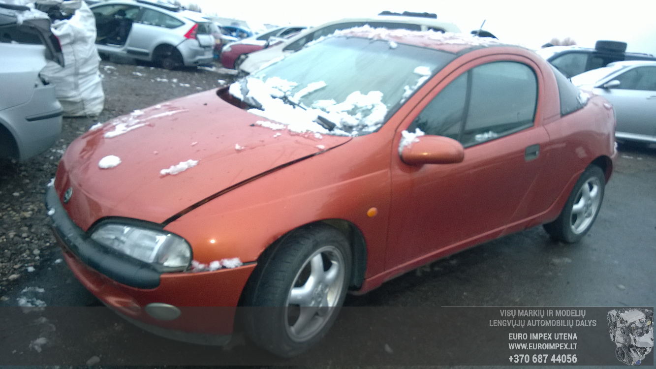 Foto-1 Opel Tigra Tigra, A 1994.07 - 2000.12 1995 Petrol 1.6 ...