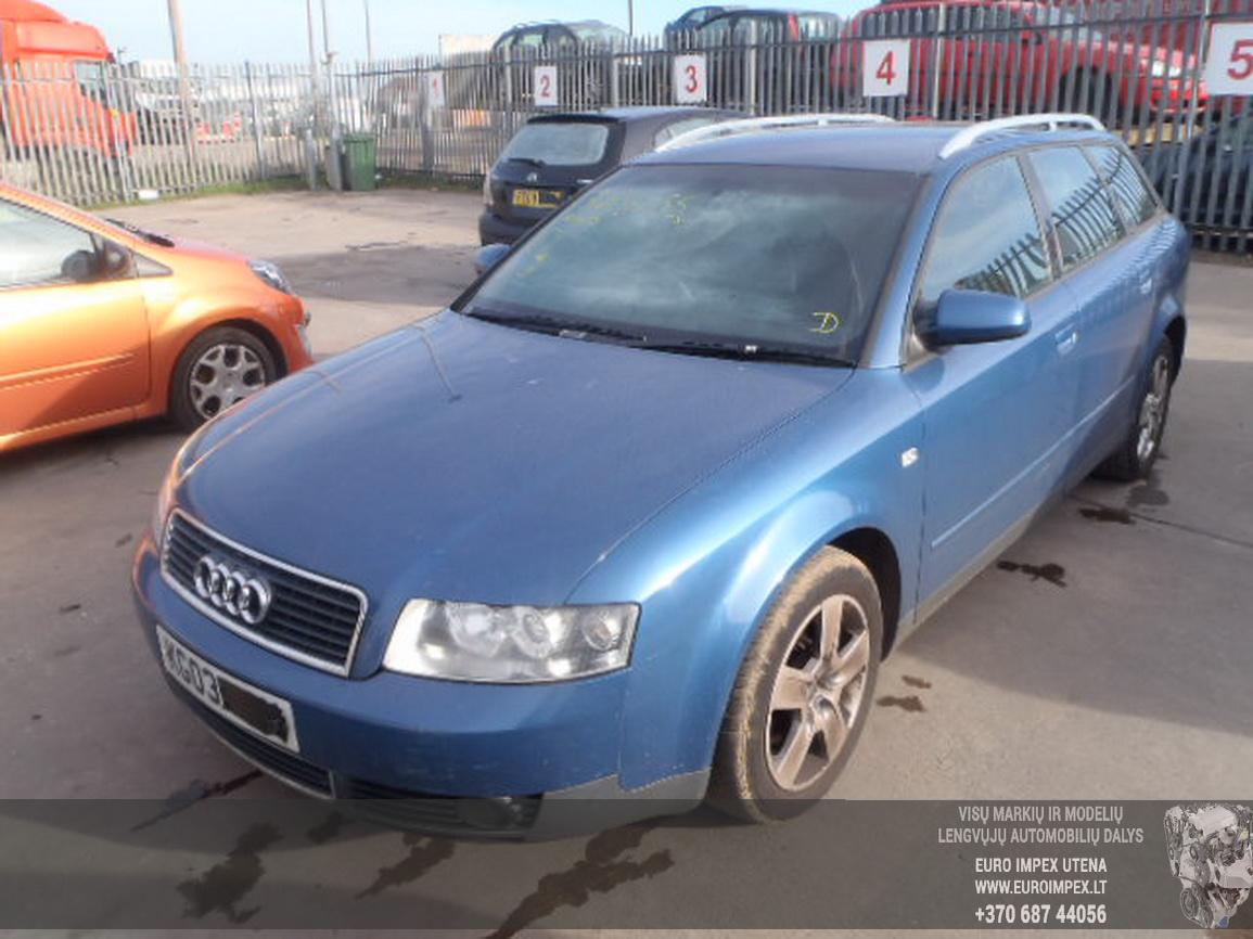 Foto-1 Audi A4 A4, B6 2000.11 - 2004.12 2003 Petrol 2.0 ...