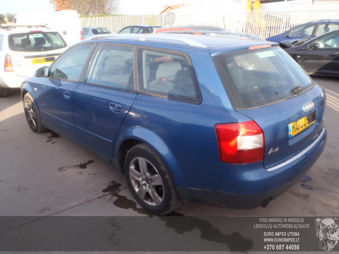 Used 1917096 Fuse Box Audi A4 2003 20l 10eur Eis00379864 03 Foto 2 B6 200011 200412 Petrol 20