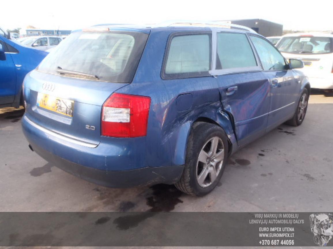 ... Foto-3 Audi A4 A4, B6 2000.11 - 2004.12 2003 Petrol 2.0 ...