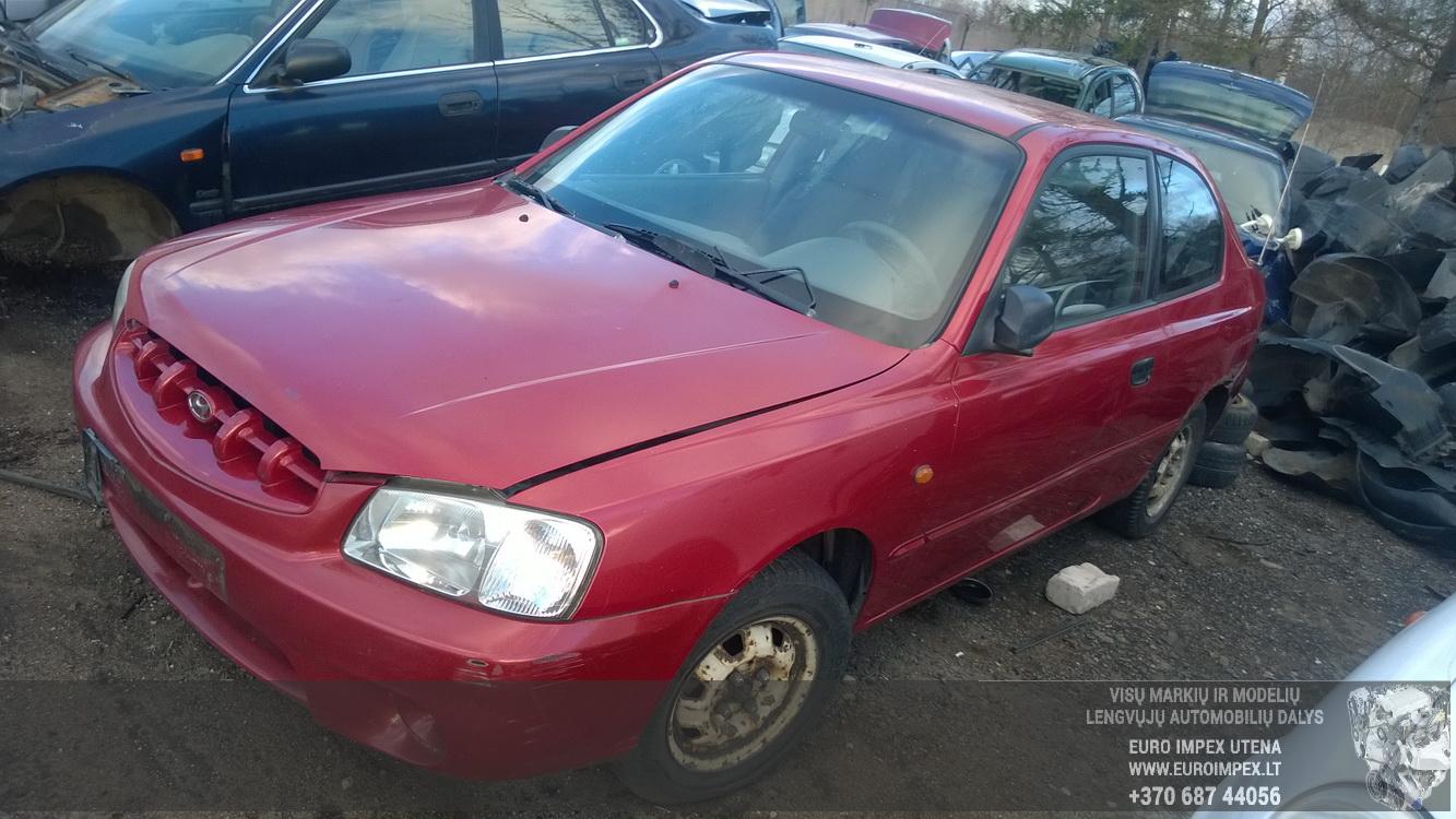 Foto-1 Hyundai Accent Accent, 2000.01 - 2005.11 2001 Petrol 1.3 ...