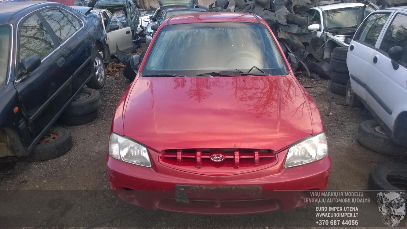 Fuse Box Hyundai Accent 2001 13l 14eur Eis00141230 Used Parts Shop 1997 Foto 2 200001 200511 Petrol 13