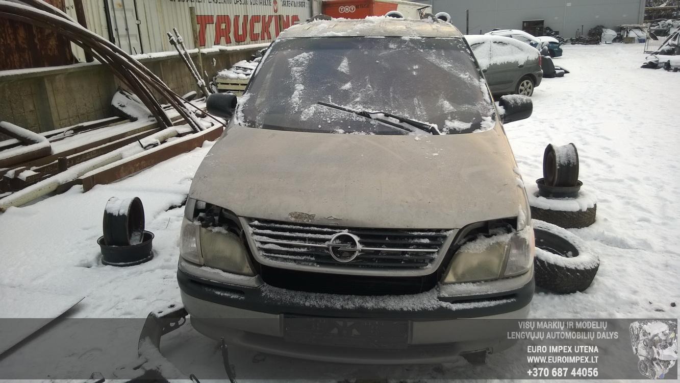 ... Foto-2 Opel Sintra Sintra, 1996.11 - 1999.04 1998 Diesel 2.2 ...