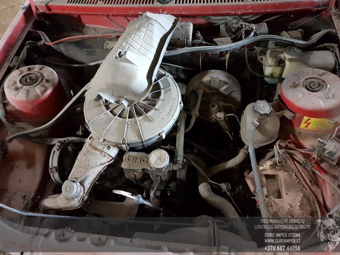 Foto-3 Opel Ascona Ascona, C 1981.09 - 1988.08 1985 Petrol 1.6