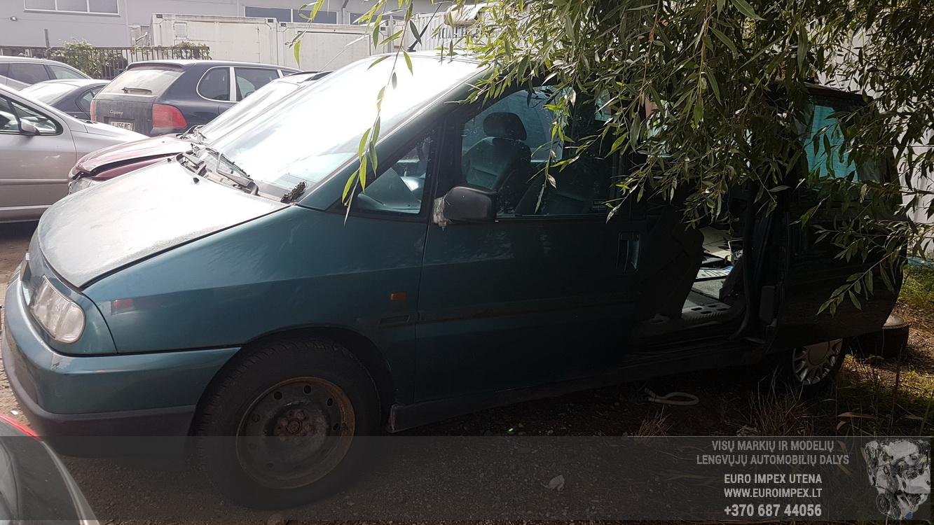 Foto-1 Fiat Ulysse Ulysse 1994 - 2002 1995 Diesel 1.9 ...