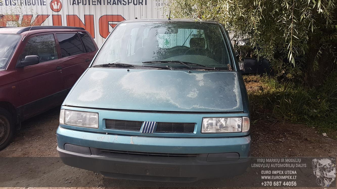 ... Foto-2 Fiat Ulysse Ulysse 1994 - 2002 1995 Diesel 1.9 ...