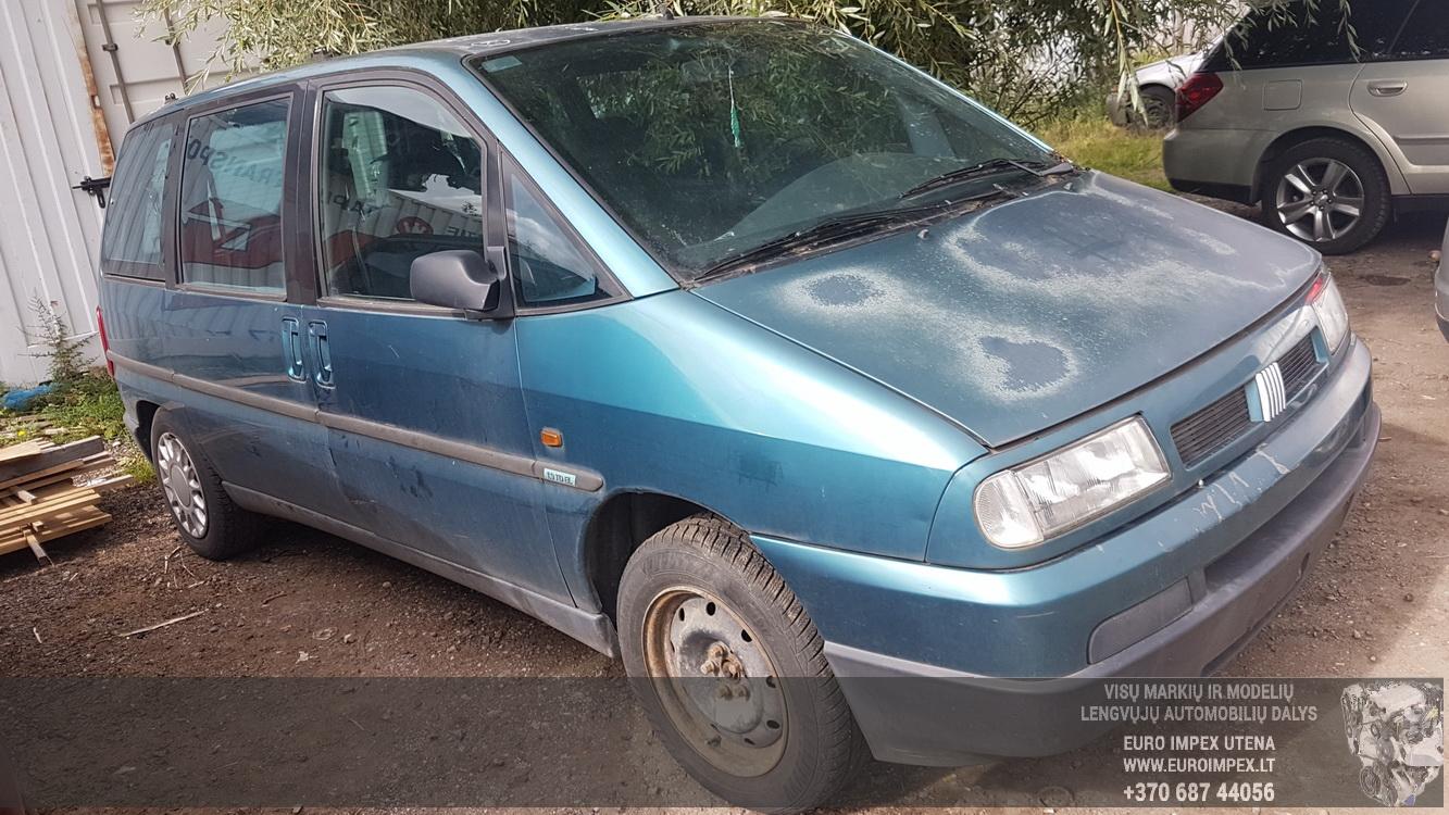 ... Foto-3 Fiat Ulysse Ulysse 1994 - 2002 1995 Diesel 1.9 ...