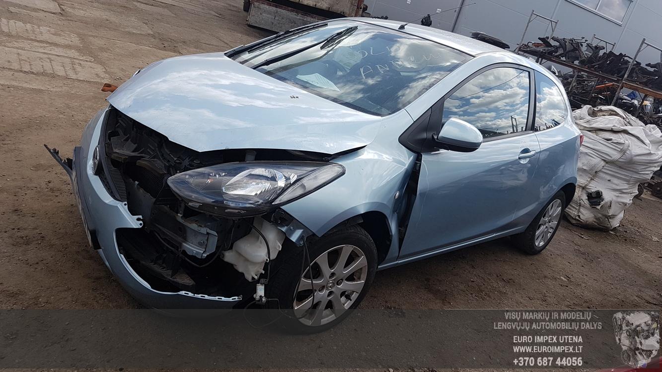 Foto-1 Mazda 2 2, DE 2007.10 - 2014.06 2008 Dyzelis 1.4