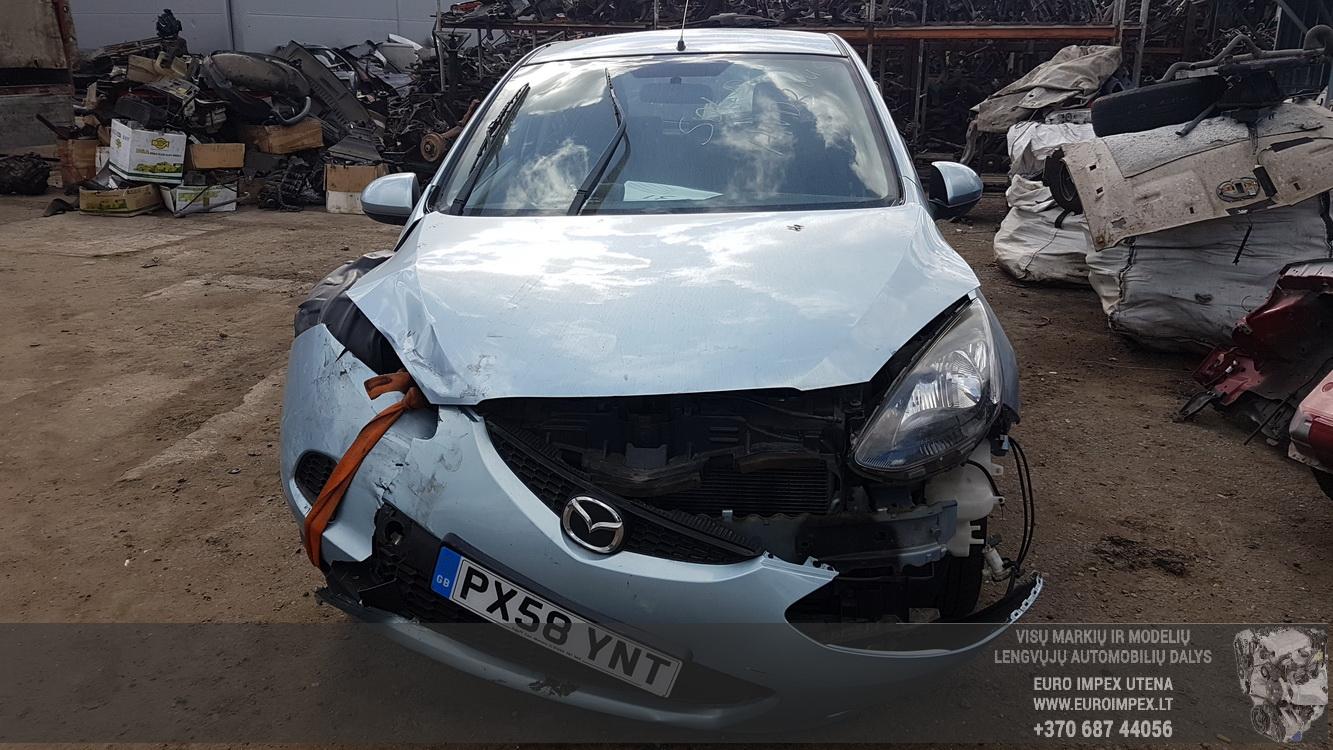 Foto-2 Mazda 2 2, DE 2007.10 - 2014.06 2008 Dyzelis 1.4