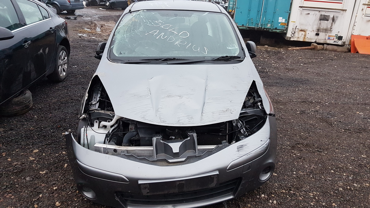 Foto-2 Nissan Note Note, 2006.03 - 2013.06 2011 Dyzelis 1.5