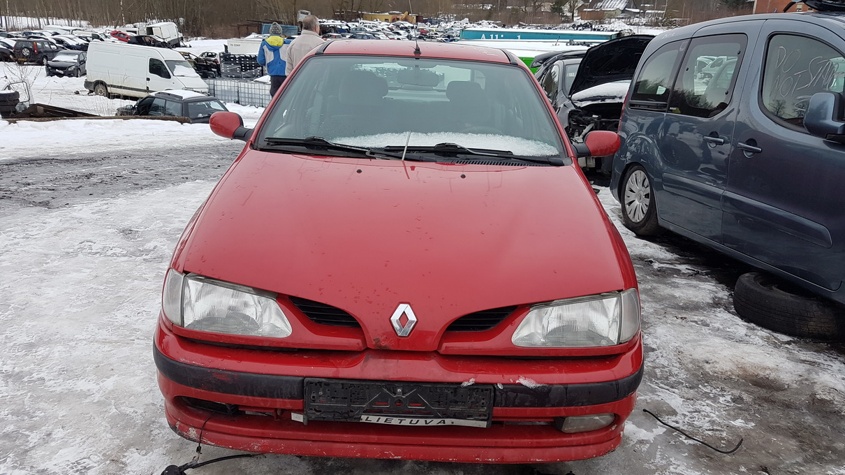 Fuse Box Renault Megane 1996 16l 9eur Eis00186938 Used Parts Shop Engine Foto 1 199511 199902 Petrol 16
