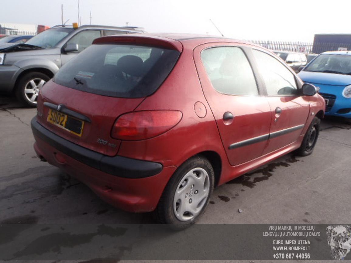 Foto-3 Peugeot 206 206, 1998.08 - 2002.07 2002 Dyzelis 1.4