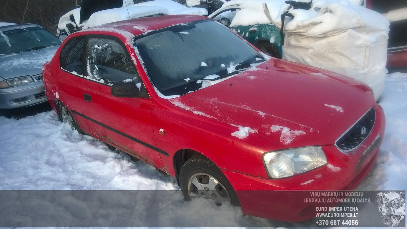Foto-1 Hyundai Accent Accent, 2000.01 - 2005.11 2002 Hecbekas Benzinas 1.3
