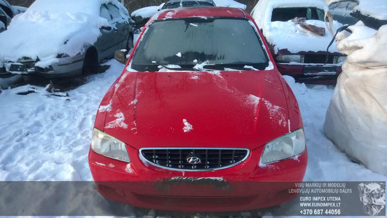 Foto-2 Hyundai Accent Accent, 2000.01 - 2005.11 2002 Benzinas 1.3