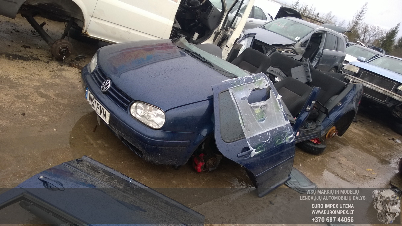 Foto-1 Volkswagen Golf Golf, IV 1997.08 - 2003.10 2000 Petrol 2.0 ...