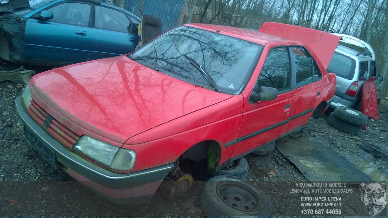 ... Foto-2 Peugeot 405 405, 1987.01 - 1992.12 1992 Diesel 1.9 ...