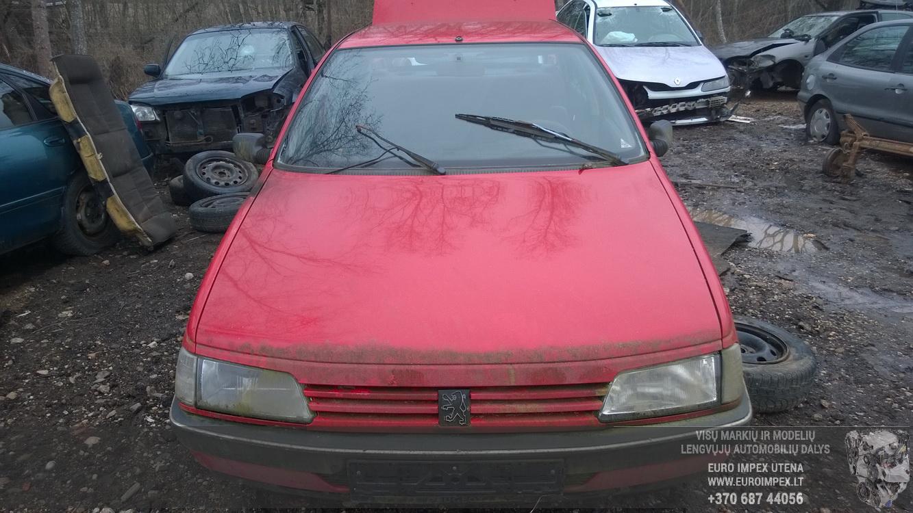 3675224034 Brake Servo Booster Peugeot 405 1992 19l 306 Fuse Box Lights Foto 1 198701 199212 Diesel 19
