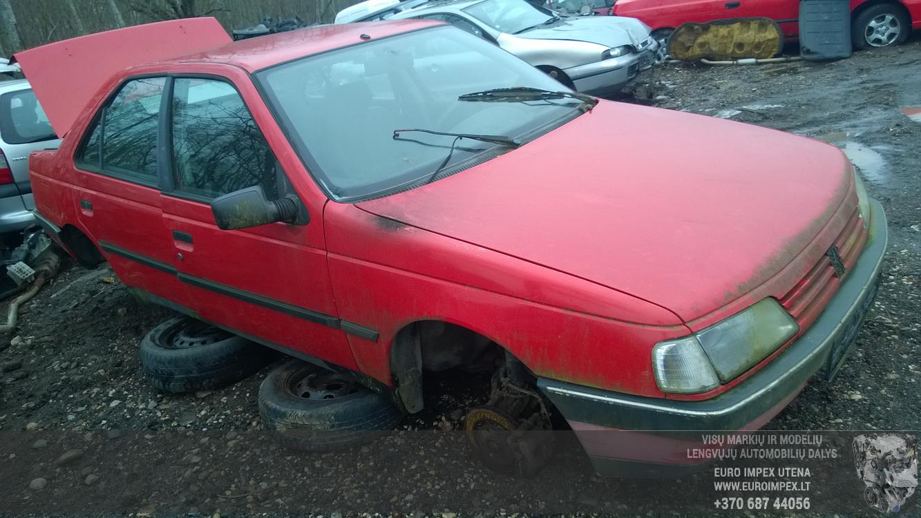 ... Foto-3 Peugeot 405 405, 1987.01 - 1992.12 1992 Diesel 1.9 ...