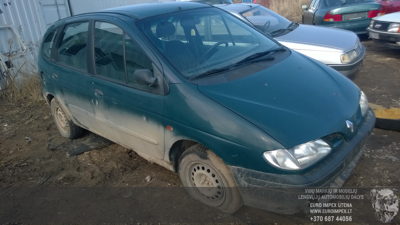 7703297183h S103600300k Fuse Box Renault Scenic 1997 16l 25eur Cover Foto 3 199601 199909 Petrol 16