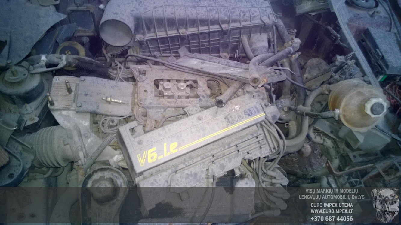 Foto-3 Renault Safrane Safrane, 1992.04 - 1996.07 1993 Бензин 3.0