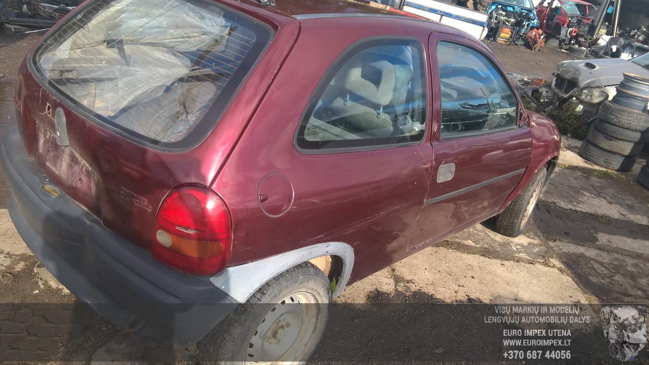 S Fuse Box Opel Corsa 1995 14l 14eur Eis00132389 Used Parts Shop B Foto 4 199303 200009 Petrol 14