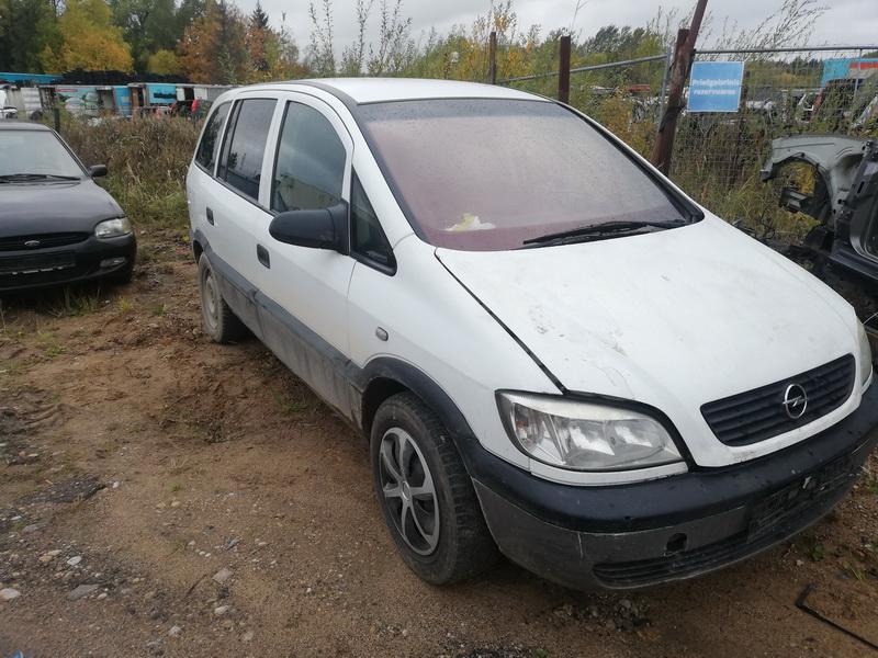 Foto-3 Opel Zafira Zafira, A 1999.04 - 2003.11 2001 Dyzelis 2.0