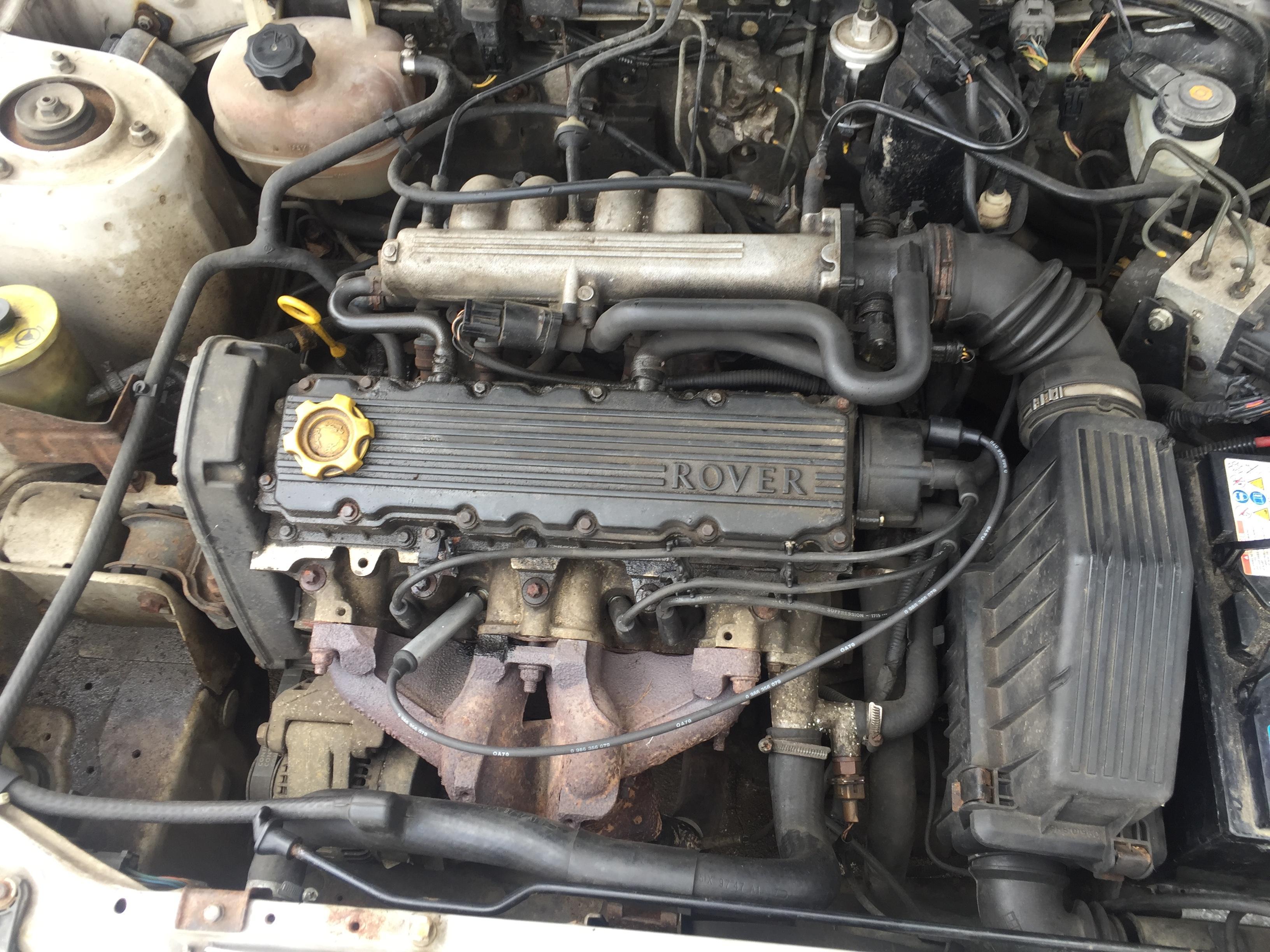 Foto-4 Rover 200-Series 200, 1995.10 - 2000.03 1999 Benzinas 1.4