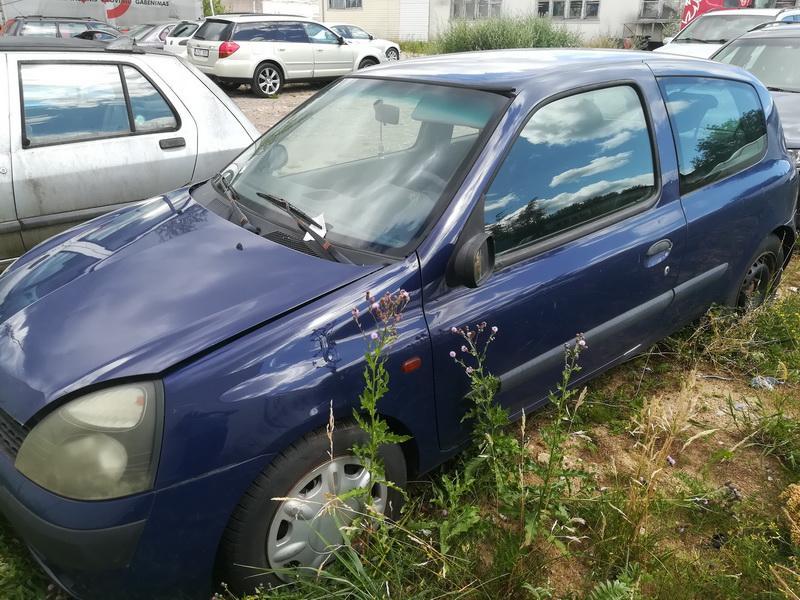 Foto-4 Renault Clio Clio, 2001.05 - 2004.11 facelift 2002 Benzinas 1.2