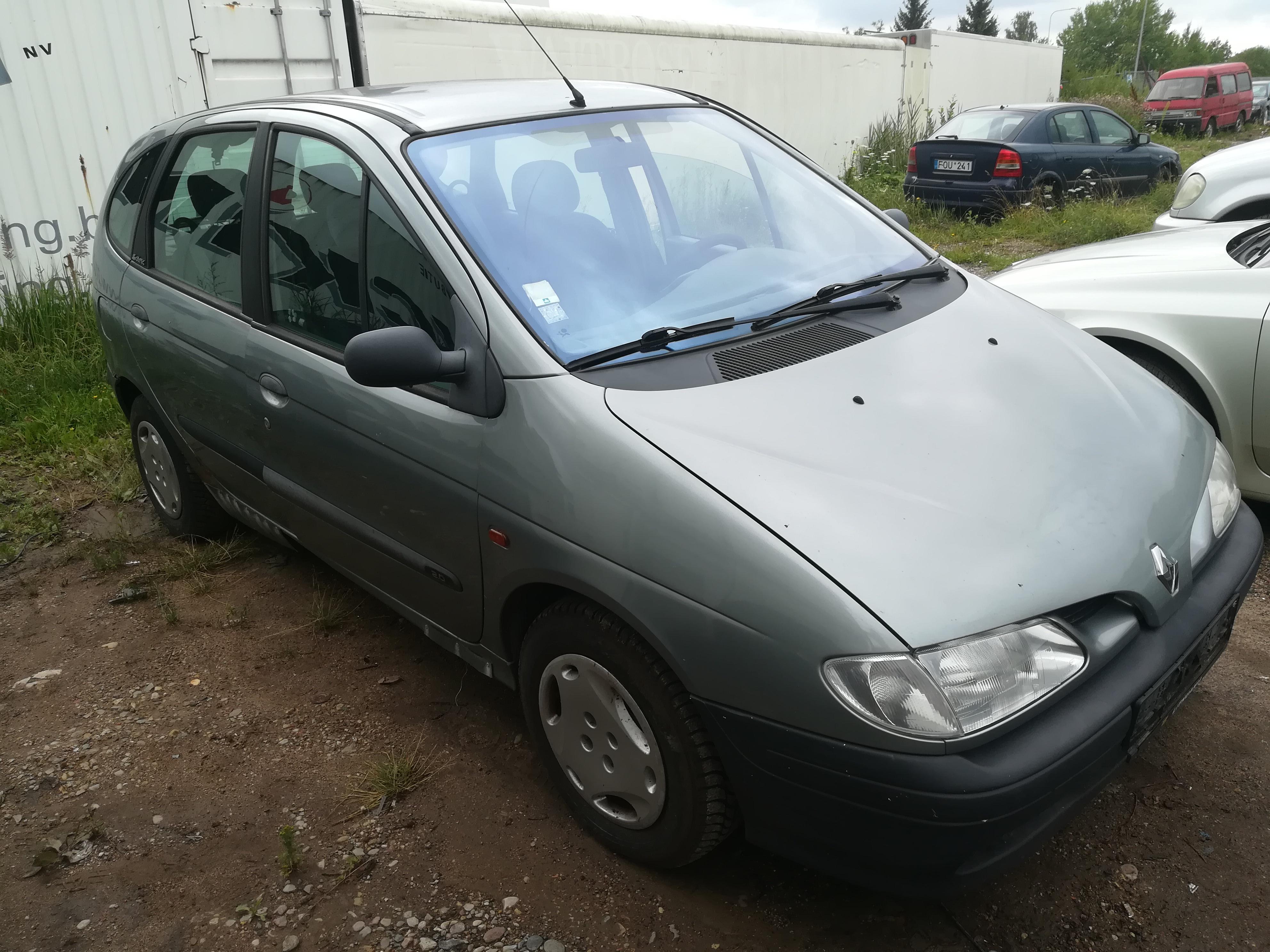 Foto-3 Renault Scenic Scenic, I 1996.01 - 1999.09 1998 Benzinas 2.0