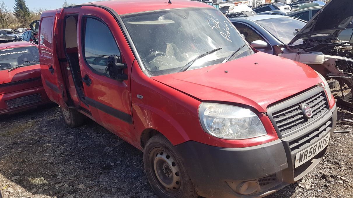 Foto-2 Fiat Doblo Doblo, 2009.08 --> 2009 Dyzelis 1.3