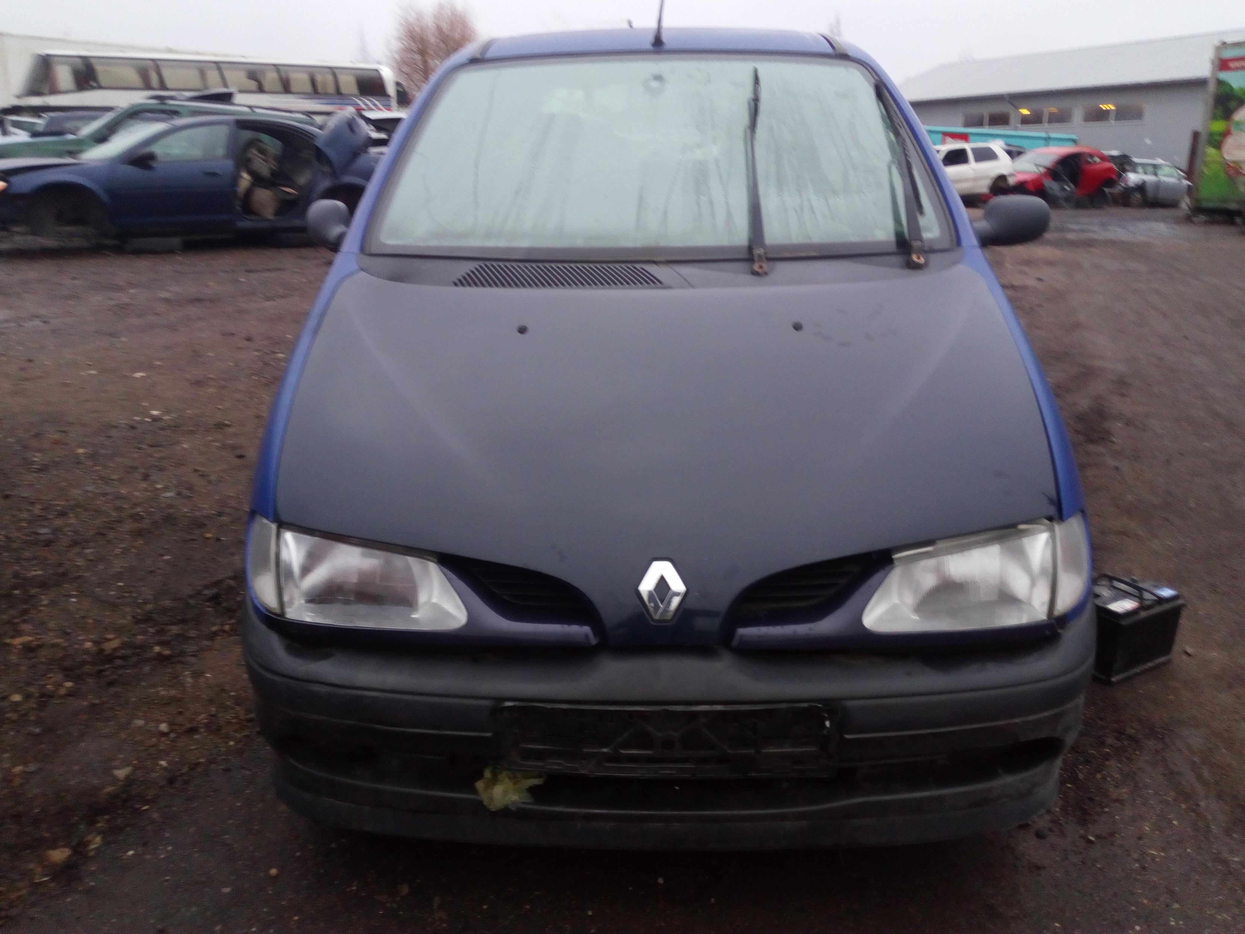 Foto-2 Renault Scenic Scenic, I 1996.01 - 1999.09 1997 Benzinas 1.6