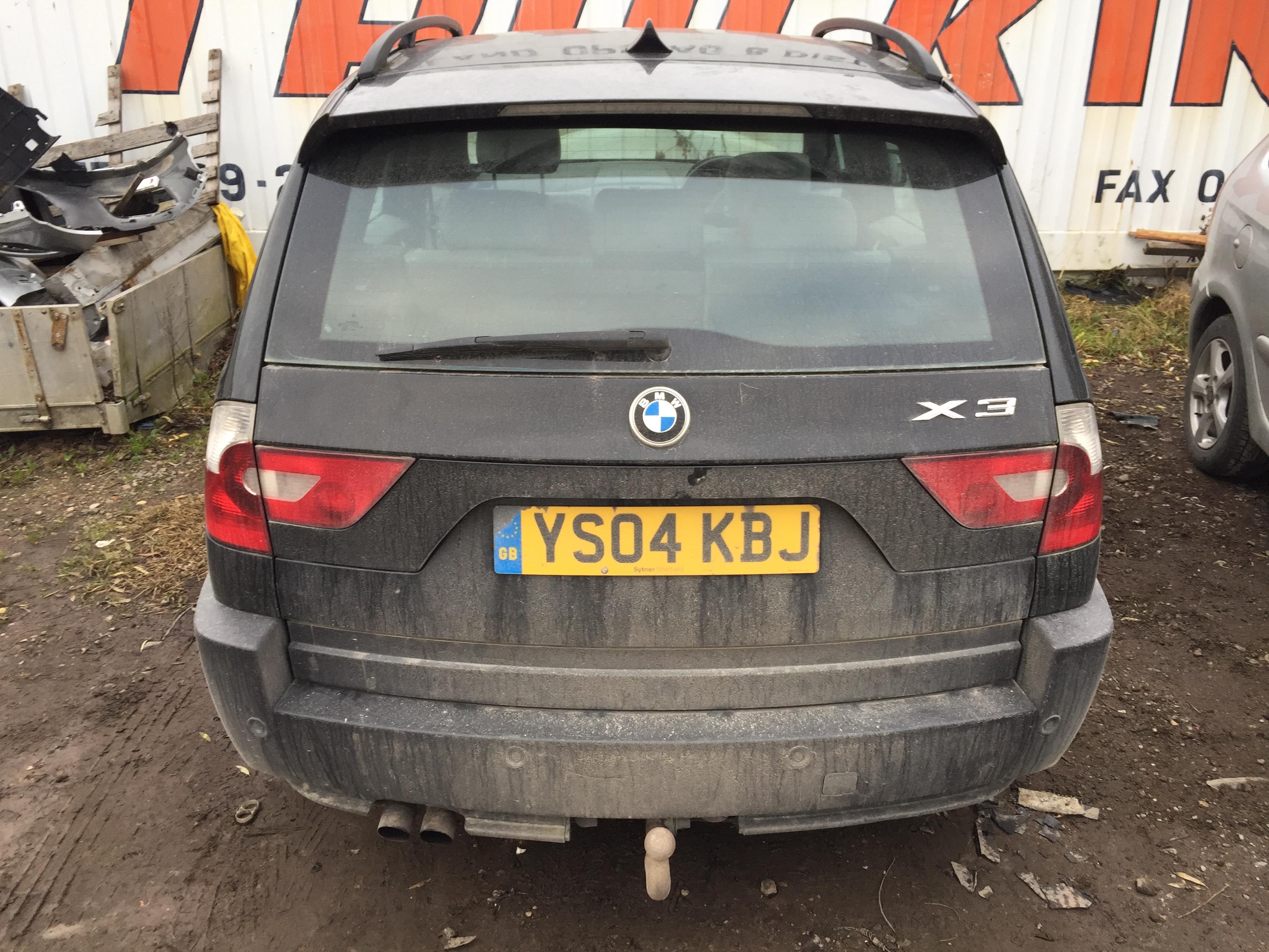 Foto-4 BMW X3 X3 E83, 2003.01 - 2010.06 2004 Benzinas 2.5