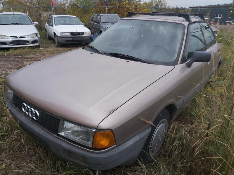 Foto-3 Audi 80 80, B3 1986.06 - 1991.09 1987 Benzinas 1.8