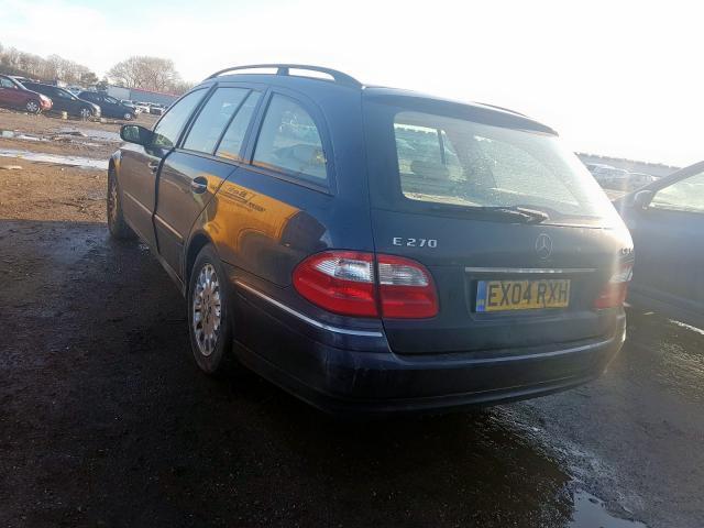Foto-3 Mercedes-Benz E-CLASS W211, 2002.03 - 2006.04 2004 Dyzelis 2.7