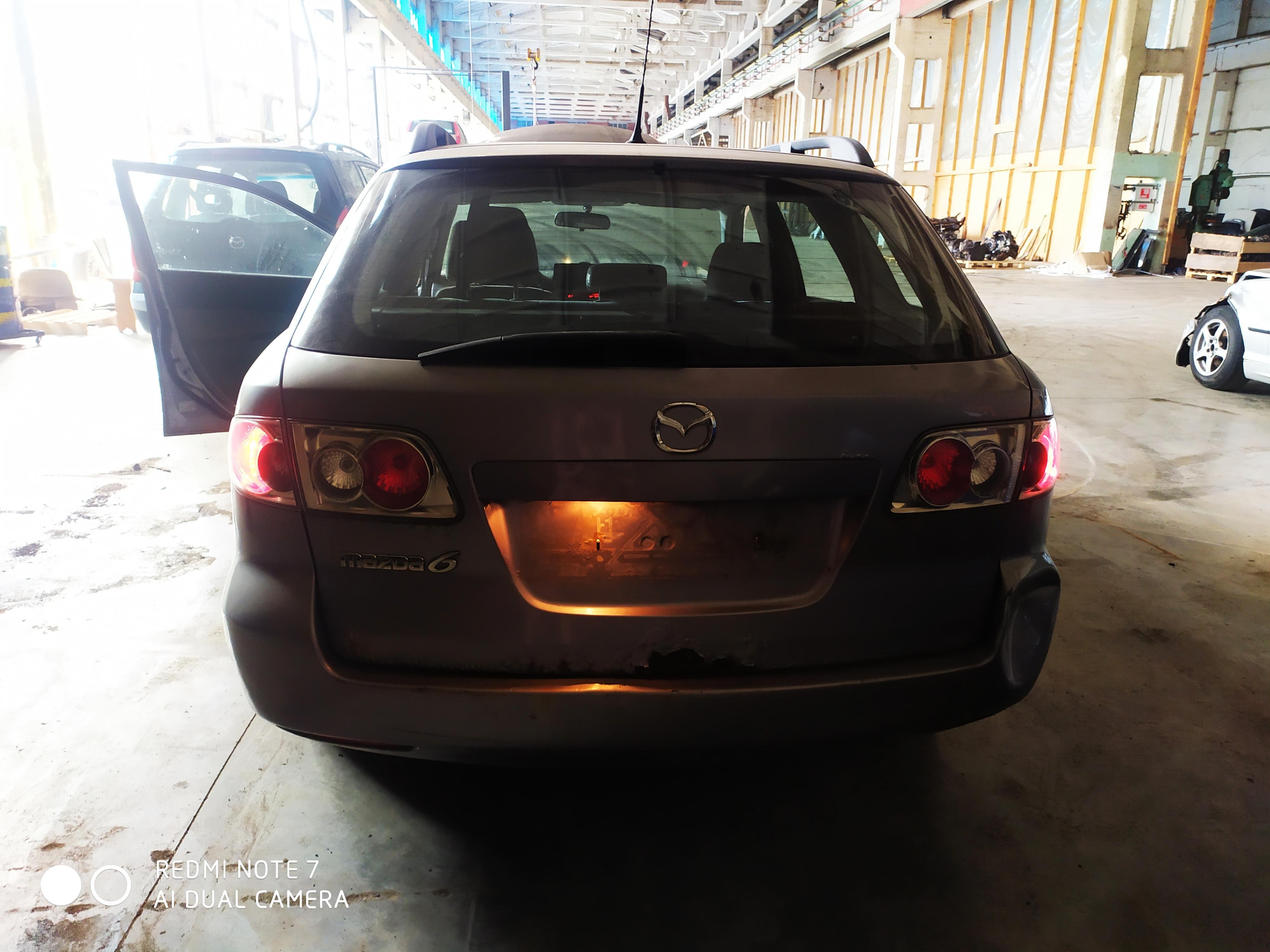 Foto-4 Mazda 6 6, 2002.06 - 2007.08 2003 Benzinas 2.0
